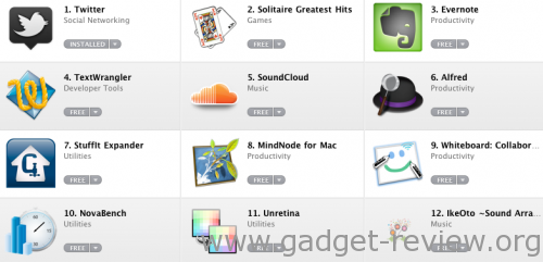 Top 12 Apps Mac App Store
