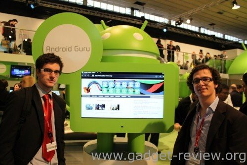 Gadget Review Team Android Booth