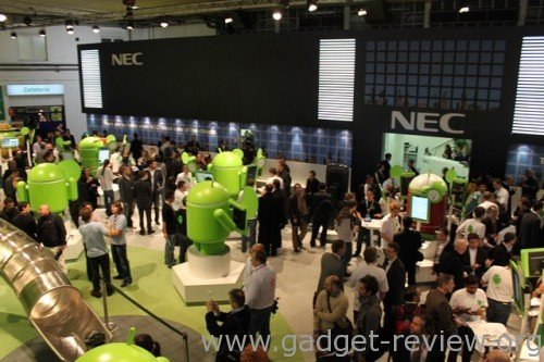Overview Android Booth