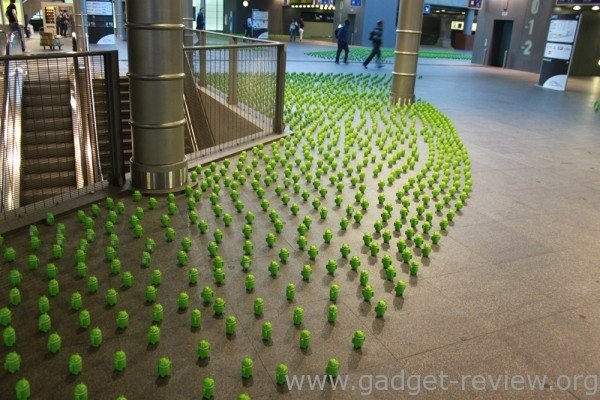 Android Centraal Station Antwerpen