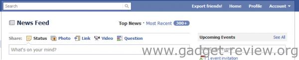 Facebook Contacten exporteren