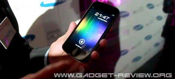 Samsung Galaxy Nexus Demo