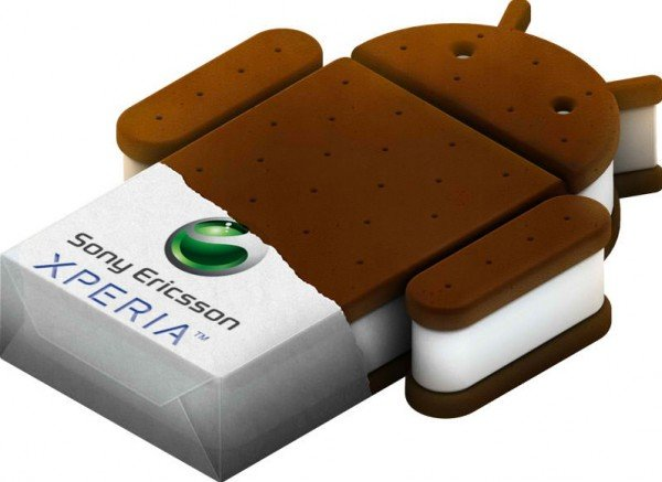 Android Ice Cream Sandwich Xperia