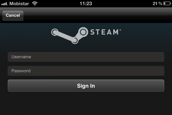 Steam App iOS