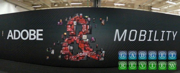 Adobe Mobility MWC booth