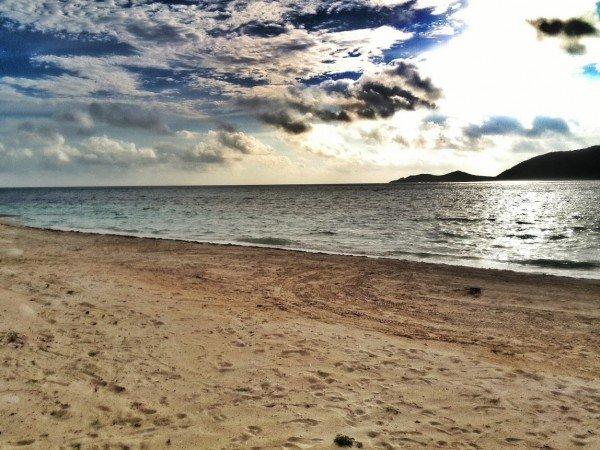 Nexus 10 Beach picture