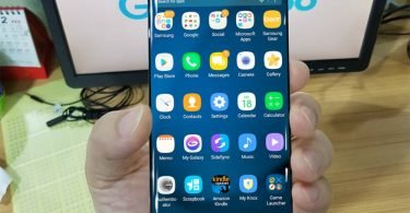 Samsung Galaxy S8 Leaked Live Image